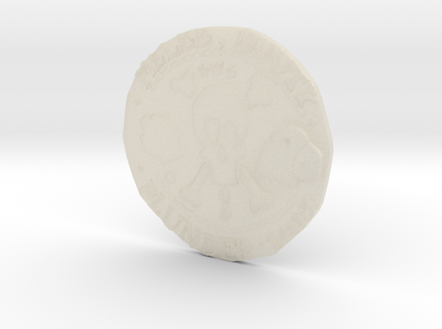 Monkey Island 3 | Verb Coin 3d printed