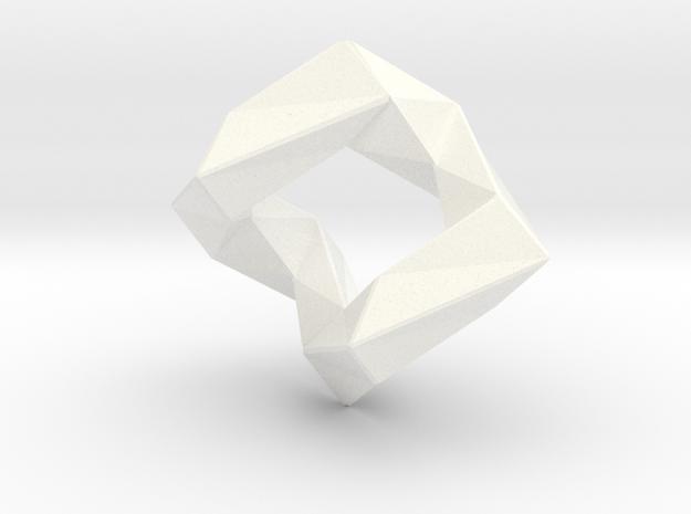 Connect in White Processed Versatile Plastic