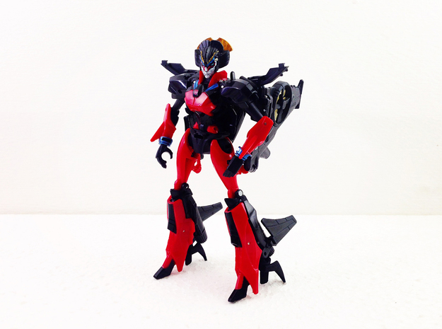 Heels for deluxe Windblade in Black Strong & Flexible