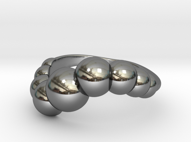 9 Sphere Ring Size 7