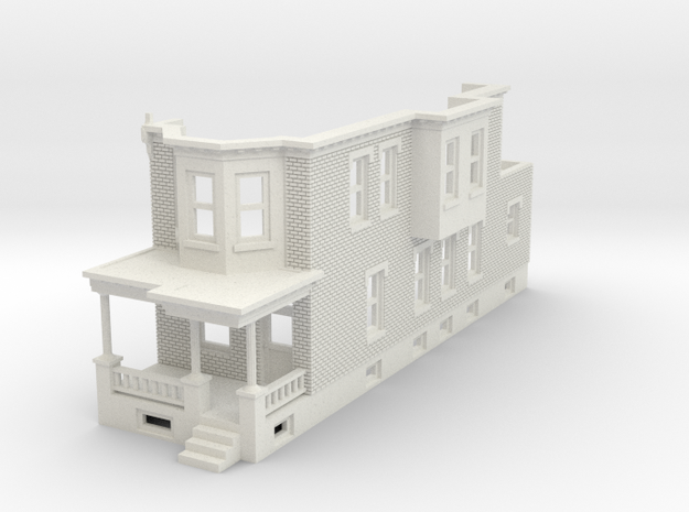 WEST PHILLY ROW HOME END 160 in White Natural Versatile Plastic