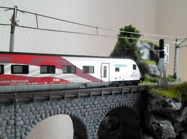 ÖBB-Signale 1:160 in Smooth Fine Detail Plastic