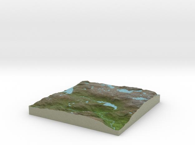 Terrafab generated model Tue Jan 26 2016 11:48:00  in Full Color Sandstone