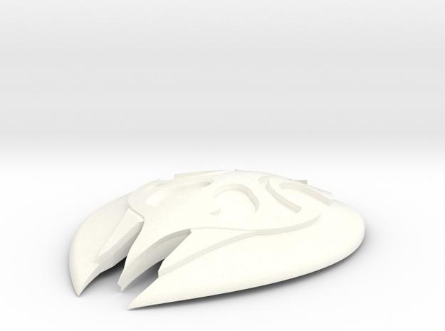 Skyrim Glass Shield in White Processed Versatile Plastic