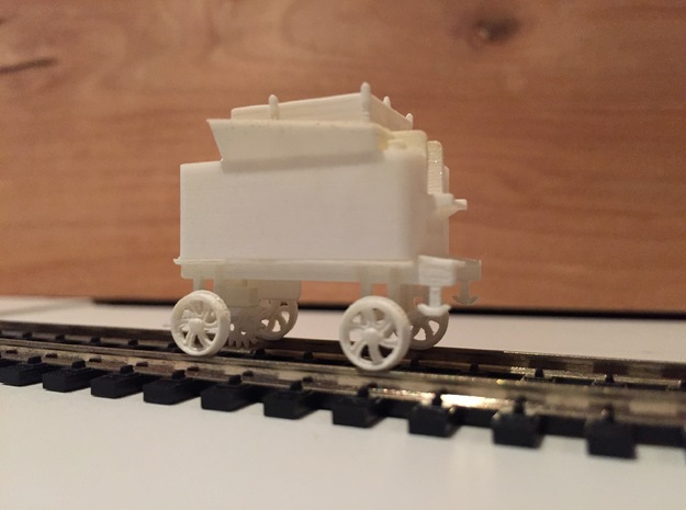 Mt. Washington Cog Rwy Tender with Feedwater Pump in Frosted Ultra Detail