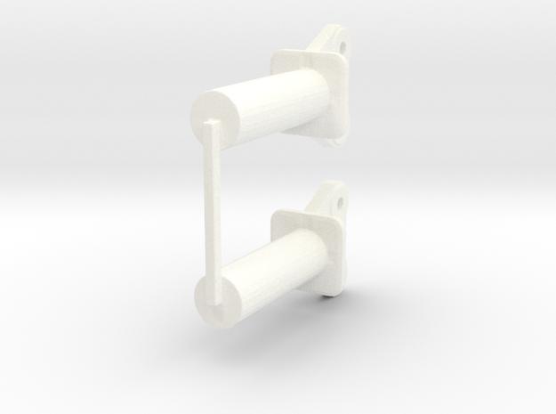 100t Ends(1) in White Processed Versatile Plastic