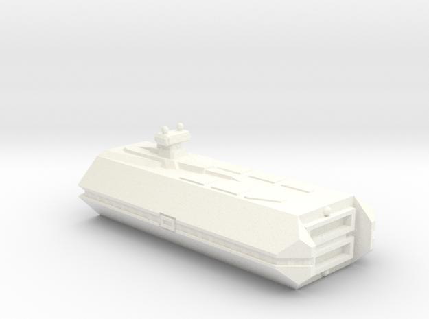 Imperial Fleet Carrier in White Processed Versatile Plastic