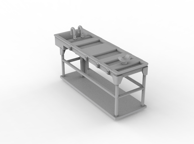 Autopsy Table 01. N Scale (1:160) in Frosted Ultra Detail