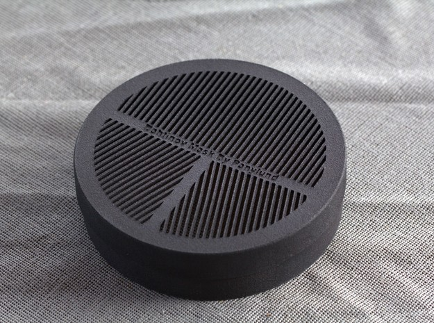Bahtinov Focus Mask for camera lenses (75-79mm OD) 3d printed Bahtinov mask