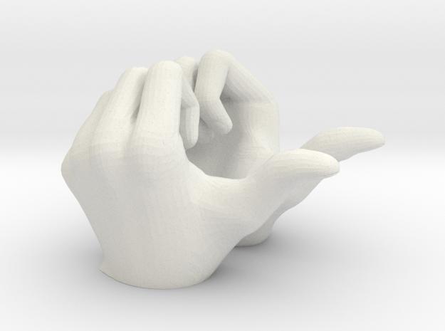 SH Figuarts Hand Gestures. Super Saiyan Vegeta Sup in White Natural Versatile Plastic