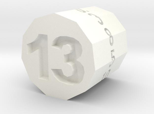 """d13 Hendecagonal Prism (""""Unlucky Roller"""")"""