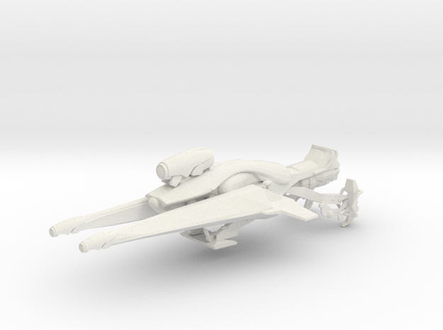 Vex Sparrowclast (1:18 Scale) in White Strong & Flexible