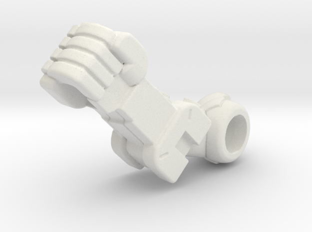Desktop Army B101 Silphy R Arm in White Strong & Flexible