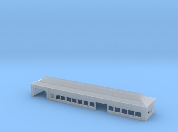 Mûsu Train Station in Smooth Fine Detail Plastic