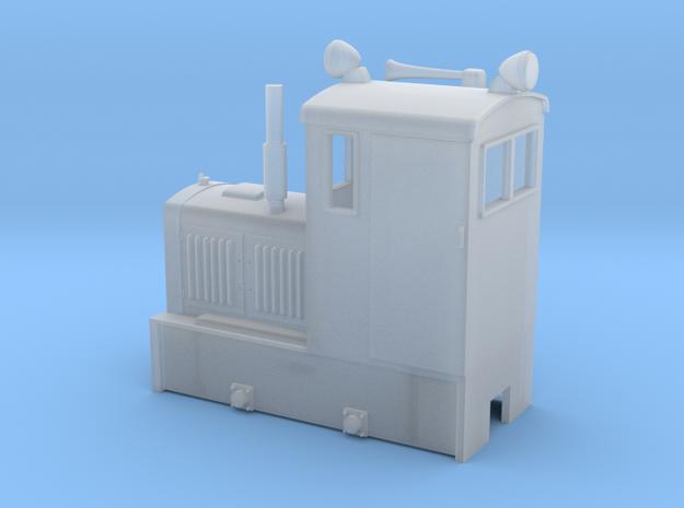 Industrial model locomotive DL2 On18 1/48 9mm (ナロー