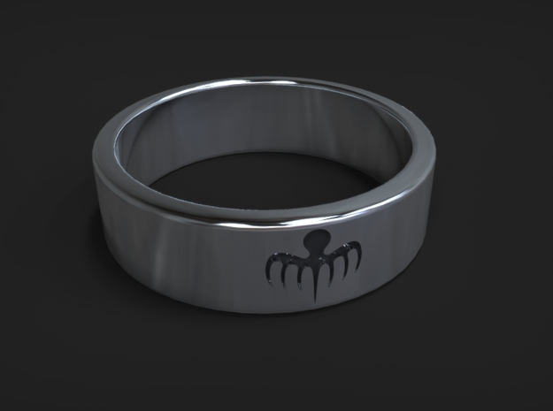 Spectre Ring (various sizes) in Polished Silver