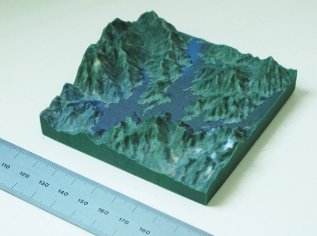 Shasta Lake 3d printed