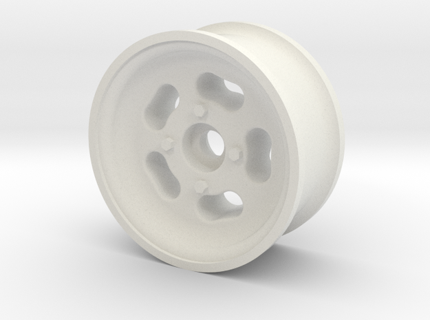 1/10 SCALE 1.9 TRAILER WHEEL MAGS in White Natural Versatile Plastic