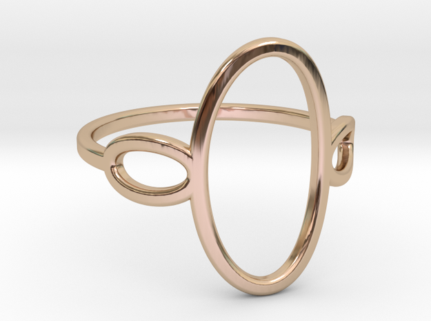 Oval Looped Ring - US Size 09