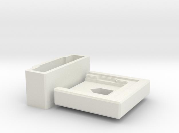 Skylake Delid Tool in White Natural Versatile Plastic