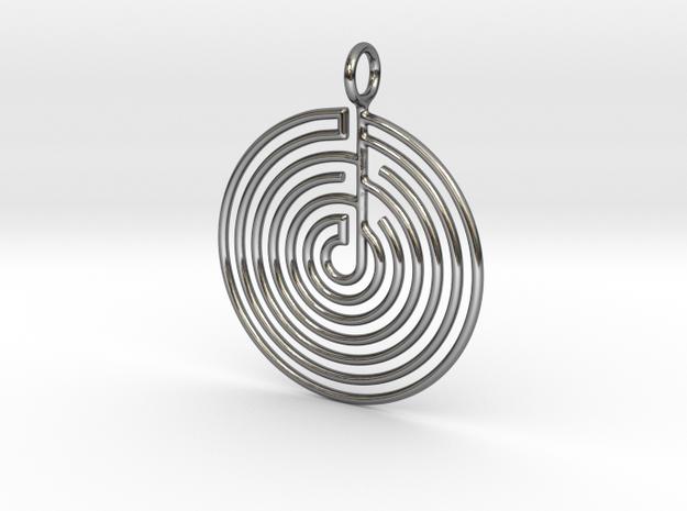 mystery little labyrinth Pendant