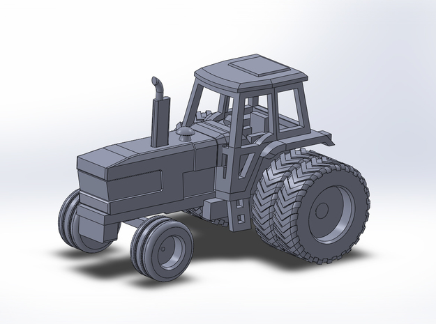 1:160/N-Scale Ford TW 30 on Duals in Frosted Ultra Detail