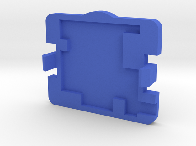 PureThermal 1 Case - Part 2/2 in Blue Processed Versatile Plastic