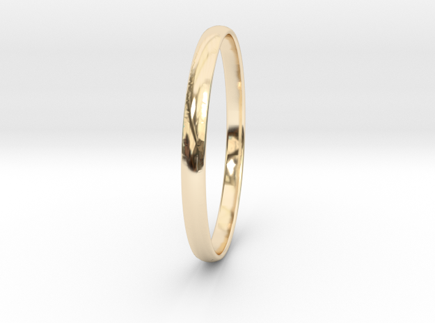 Ring Size 11 Design 4 in 14K Yellow Gold