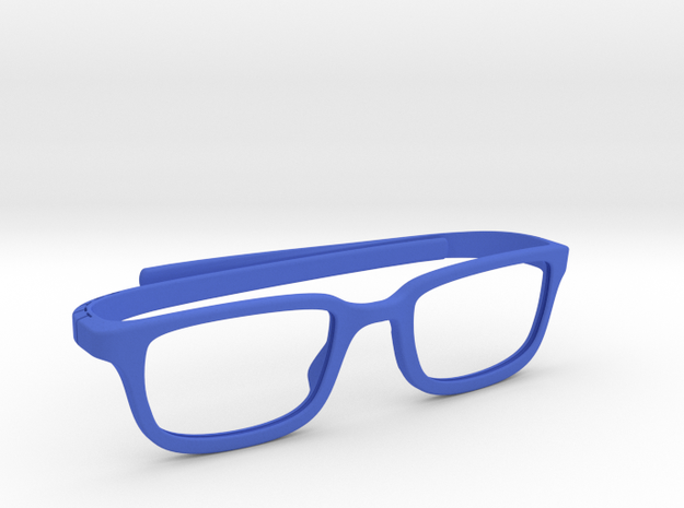 Sunglasses - Geek sheek in Blue Strong & Flexible Polished