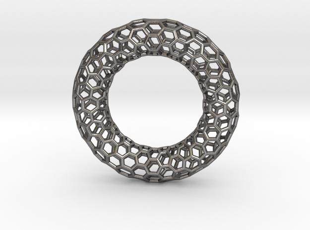 0469 Tilings [6,6,6] on Torus in Polished Nickel Steel