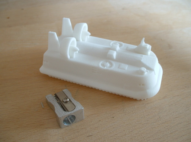 Lebed LCAC 1/285 6mm 3d printed