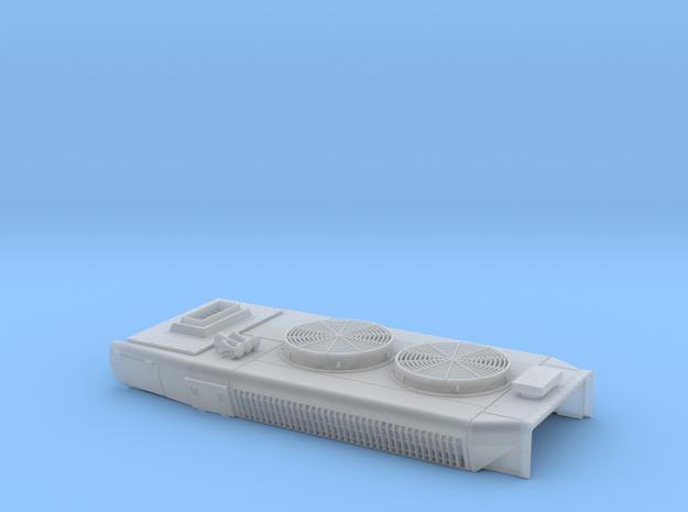 DB0004 SD40-2W DB Mxd Fans, High Stk, Rblt 1/87.1 in Smoothest Fine Detail Plastic