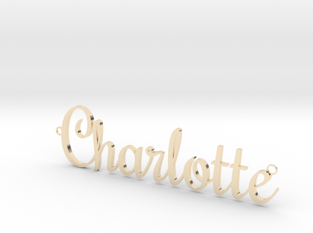 Charlotte Pendant in 14K Gold