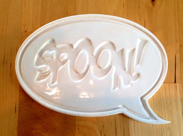 Spoon! Rest 3d printed Eagerly waiting to do its duty.