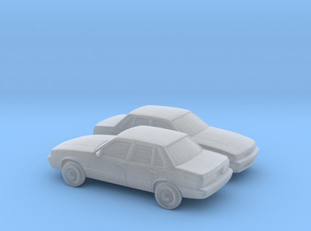 1/160 2X 1988-93 Chevrolet Cavalier Sedan