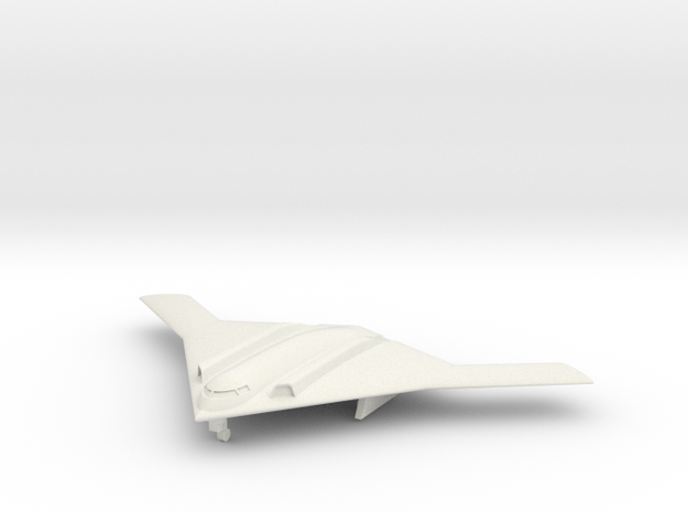 1/285 Long Range Strike Bomber (LRS-B) (x1) Landed in White Natural Versatile Plastic