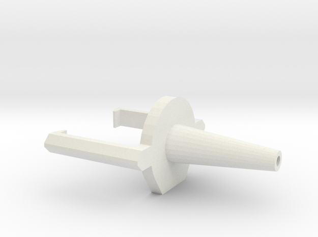 FSL 2.0 AirNozzleR3 in White Natural Versatile Plastic