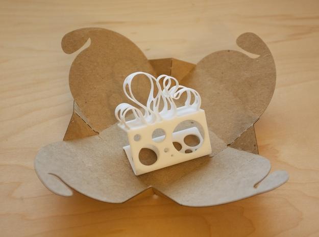 Loops & Cheese 3d printed Loops & Cheese in prototype packaging