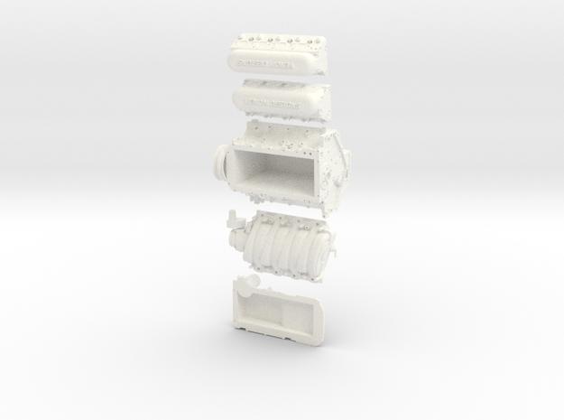 LS3 Venom Designs 1/10th  in White Processed Versatile Plastic