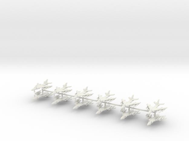 1/350 Q-5 Fantan (x12) in White Natural Versatile Plastic