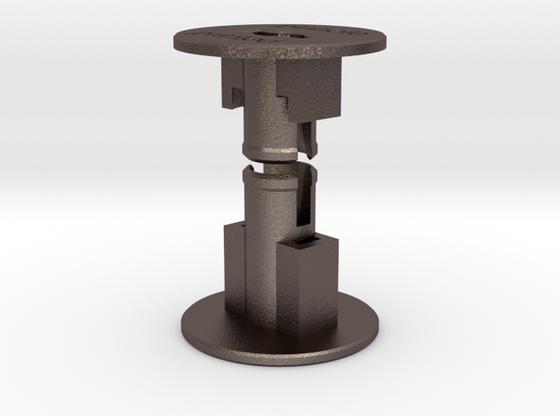 Metal 35mm Film to 120 Spool Adapter in Stainless Steel