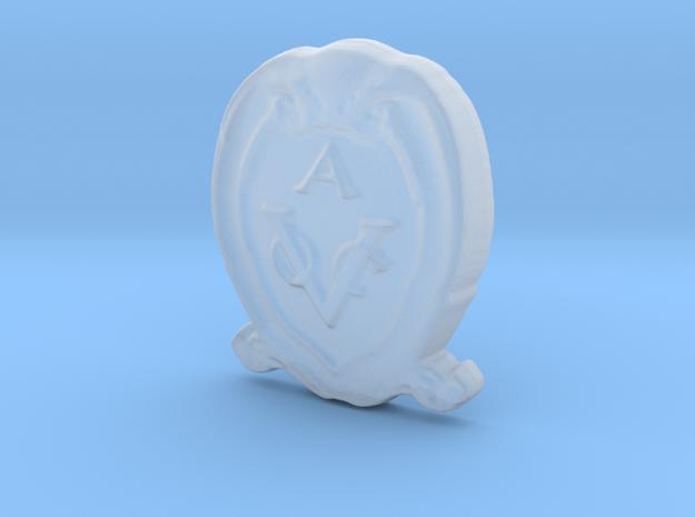 VOC-shield for Kolderstok Batavia 1:72 in Smooth Fine Detail Plastic