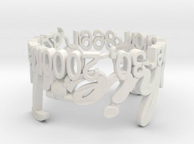 Model-cc2b16fb73da8625837a3fa4510152b3 in White Natural Versatile Plastic
