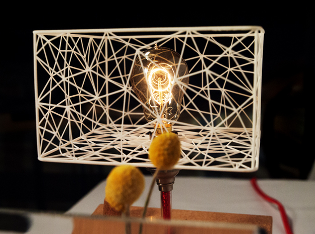 Happy Lamp - includes everything! 3d printed