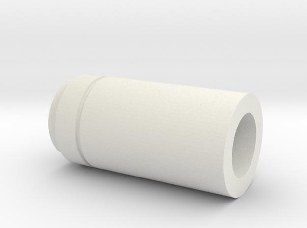Arcann Lightsaber - Emitter in White Strong & Flexible