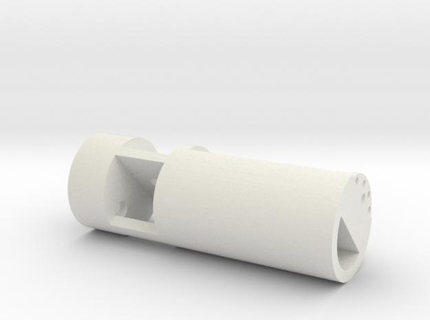 Arcann Lightsaber - Chamber in White Strong & Flexible