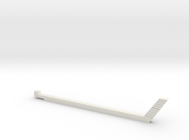 NTrak-Gap-Jig-Slim in White Natural Versatile Plastic