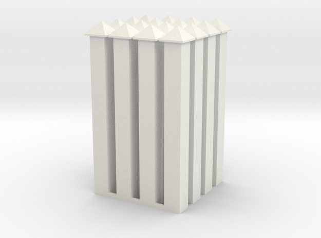 WallPost-new-hollow in White Natural Versatile Plastic