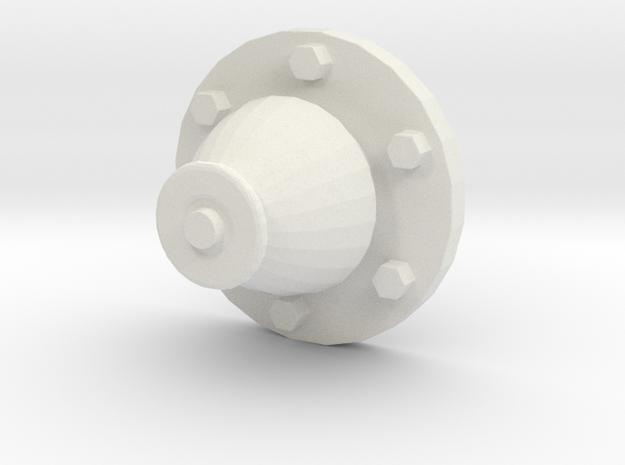 1/16 Churchill - Antenna Base - Antennensockel Kle in White Strong & Flexible