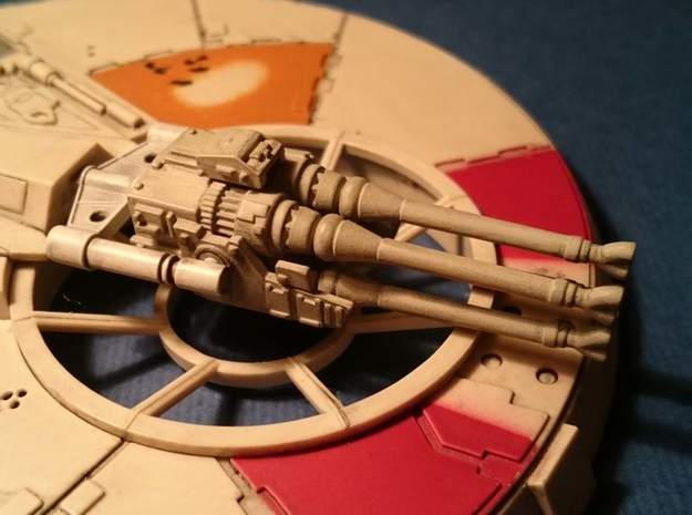YT1300 DEAGO LASER CANNON  in Smooth Fine Detail Plastic